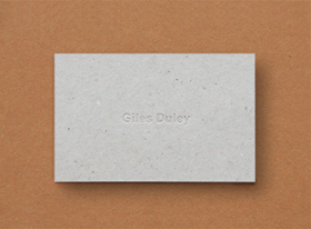 Giles Duley Stationery