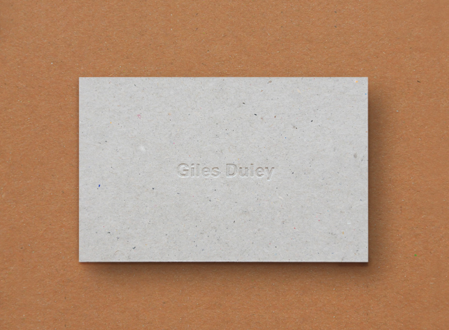Giles Duley Stationery 1
