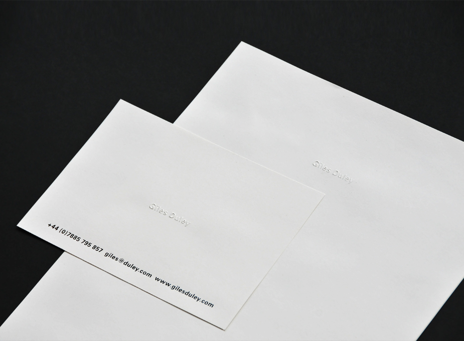 Giles Duley Stationery 3