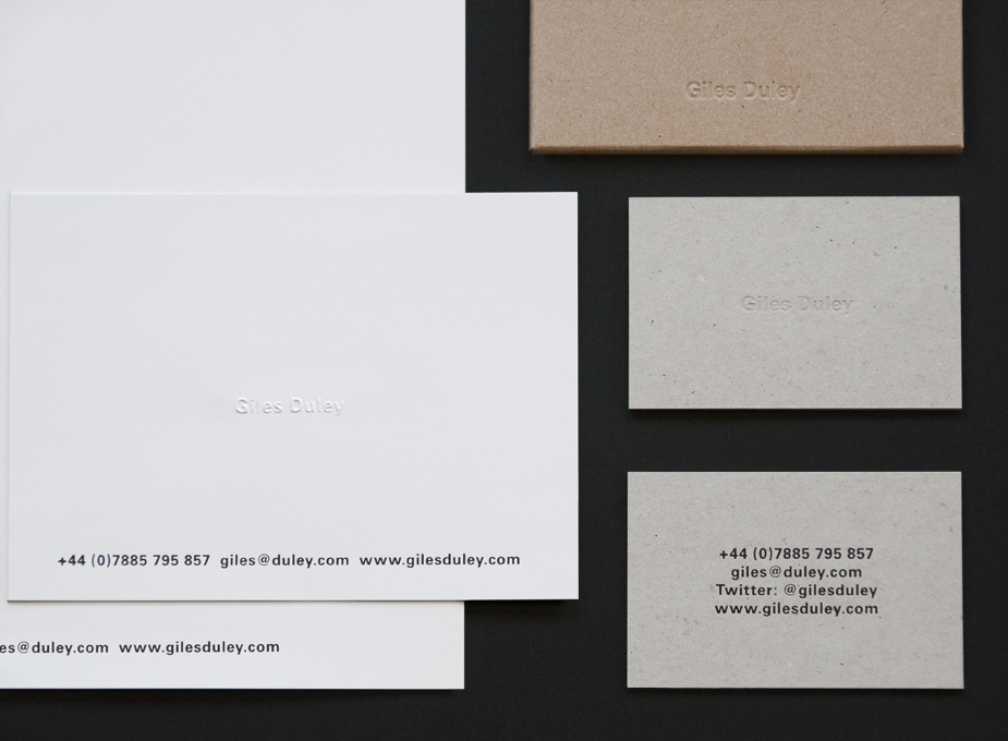 Giles Duley Stationery 4