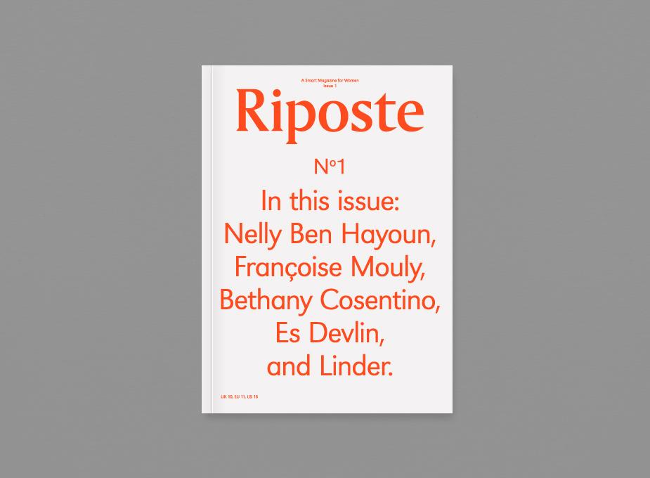 Riposte Magazine No.1 1